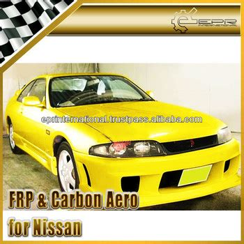 Ings Co2 Solution for nissan skyline r33 gtst ings style carbon fiber frp front bumper kits buy for