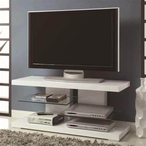 tv stands with shelves coaster tv stands modern tv stand with alternating glass