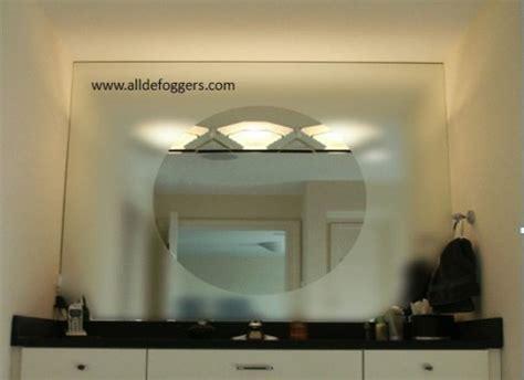 bathroom mirror fog free fog free bathroom mirror fresca platinum fpmr7538wh due 47 quot bathroom mirror with