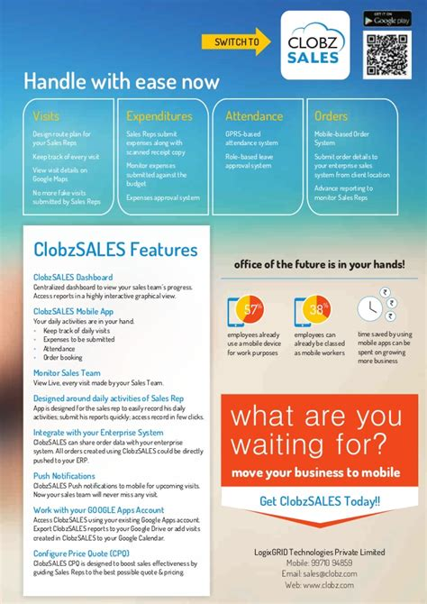 clobz sales brochure