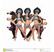 Bailarines En Trajes Del Carnaval Imagenes De Archivo