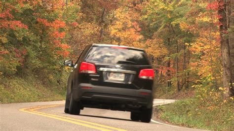 car driving car driving country road stock footage