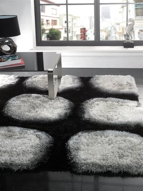black and white modern rugs black and white modern rug captivating gray living room