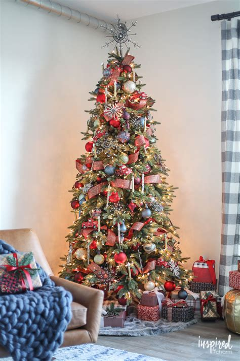 innovative christmas trees how to style a rustic modern tree for