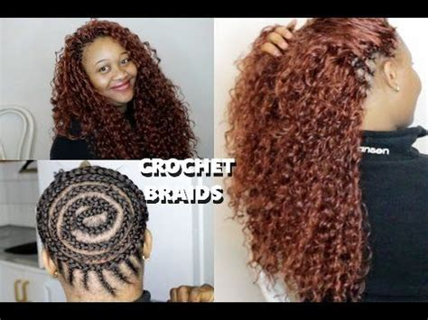 crochet hairstyles in ponytails how to do beautiful crochet braids ponytail youtube