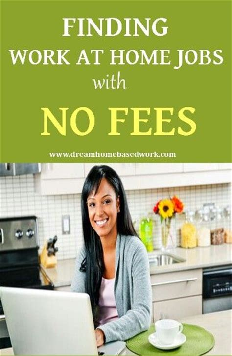 work at home with no startup fees