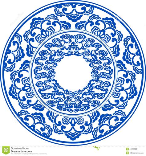 china blue pattern vector blue and white pattern stock vector image of asian japan