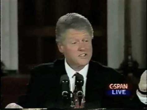 Brady Background Check Bill President Clinton Signs The Brady Bill