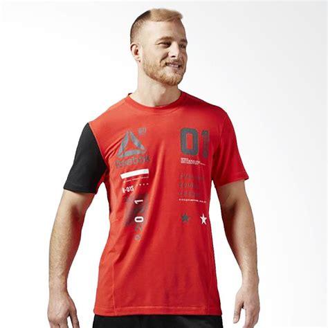 desain baju lari jual reebok one series activchill graphic men s tee kaos
