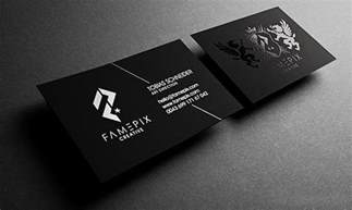 cool business card designs cool business card famepix cardrabbit