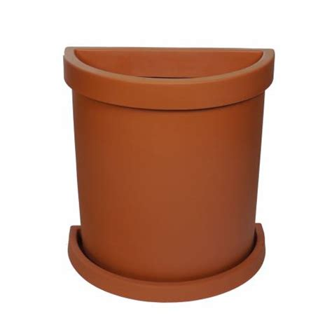 Half Circle Planter Pots by Semi Circle Flower Pot Terracota Buy Semi Circle
