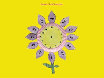 clock flower template toreto co