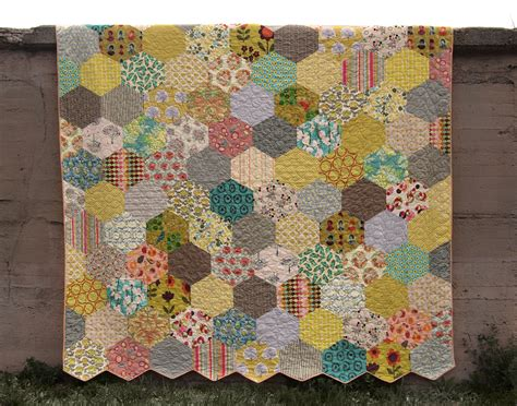 Quilting With Hexagons by Fancy Tiger Crafts S Hexagon Quilt