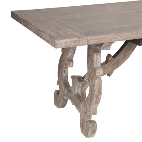 Napa Trestle Dining Table Luxe Home Company Napa Dining Table
