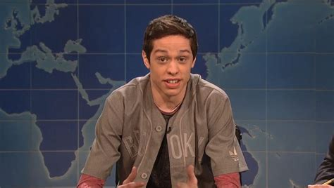 Pete Davidson Snl S Pete Davidson On Why Exploring Your Sexuality