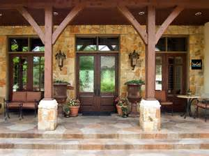 Country Home Plans With Front Porch by Texas Hill Country Porch Hill Country Style Homes