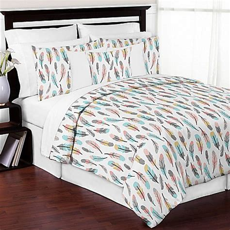 feather bedding sweet jojo designs feather bedding collection in turquoise