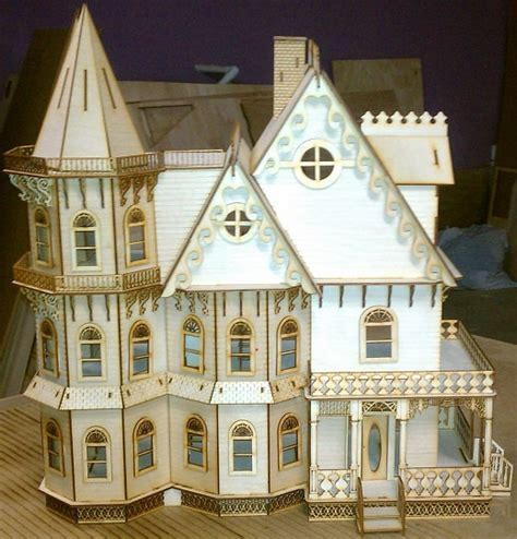 mansion doll house leon gothic victorian mansion dollhouse half inch scale kit
