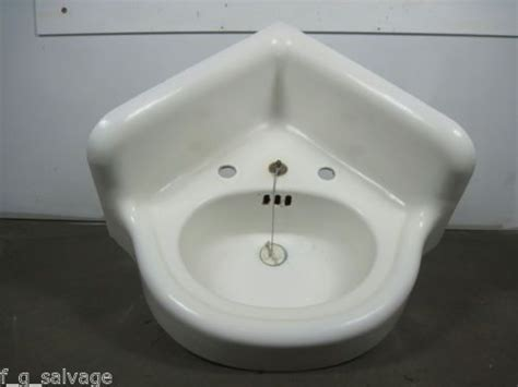 vintage corner bathroom sink antique vintage bathroom sink cast iron corner sink early