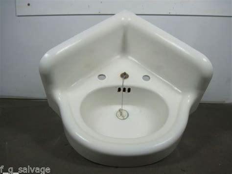 vintage corner bathroom sink antique vintage bathroom sink cast iron corner sink early