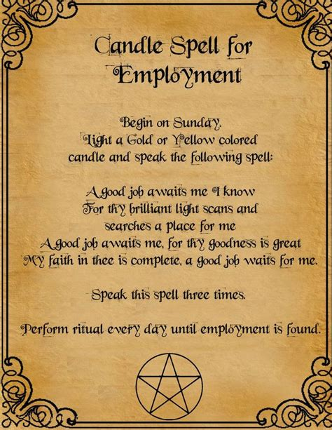 Spell Hematite candle spell for employment by minimissmelissa on