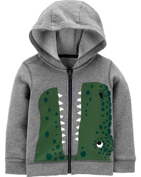 dinosaur zip  french terry hoodie carterscom
