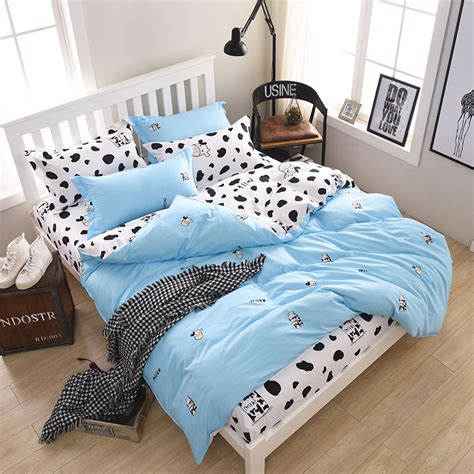 Cow Bed Sheets Promotion Shop For Promotional Cow Bed Cow Bedding Set