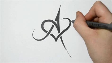 tattoo designs alphabet h a y letter in heart graffiti arts library