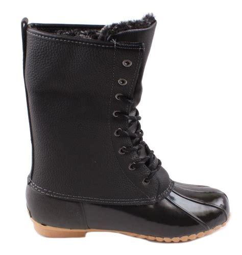 sporto waterproof boots sporto delinda womens black leather waterproof boots ebay