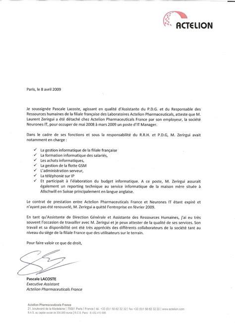 Lettre De Recommandation Commerciale Modele Lettre De Recommandation Professionnelle En Anglais