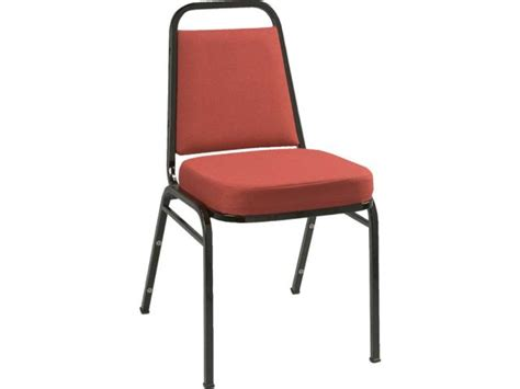 kfi basic padded stacking chair fabric  seat stacking chairs