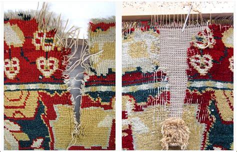 restauro tappeti restauro tappeti e arazzi bersanetti tappeti