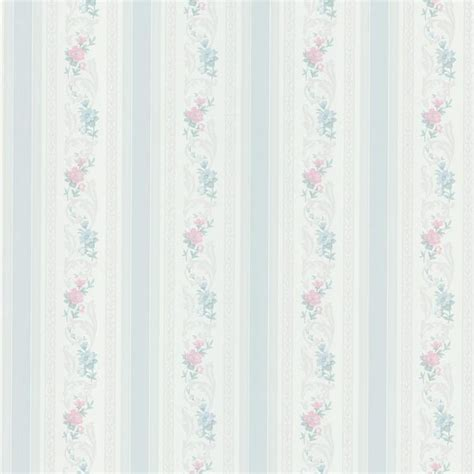Bathroom Wall Texture Ideas nicola light blue scrolling floral stripe wallpaper
