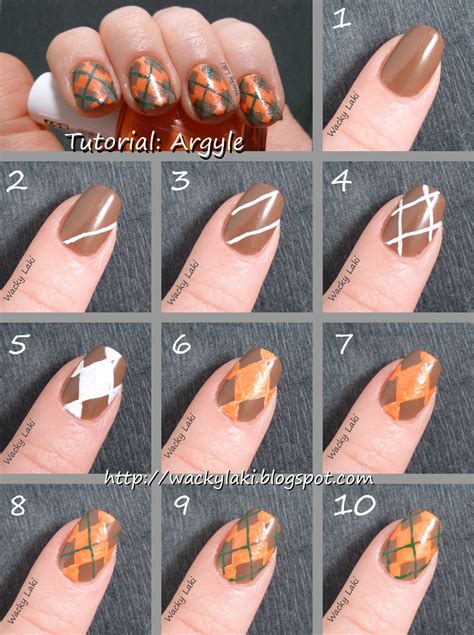nail art lines tutorial argyle nail art tutorials pictures photos and images for