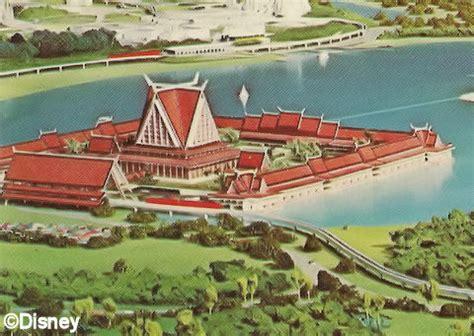 disney world hotels that never were   the disney blog