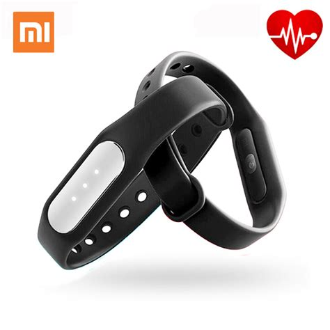 Unik Xiaomi Mi Band Fitness And Sleep Tracker Gd 89o Murah original xiaomi mi band 1s pulse smart sleep rate
