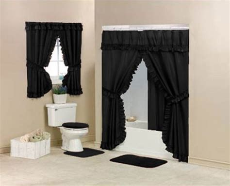 black double swag shower curtain double swag shower curtain promotion low price diamond