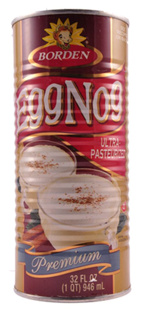 Eggnog Shelf by Borden Eggnog Can