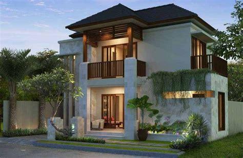 desain rumah minimalis modern  lantai tampak depan