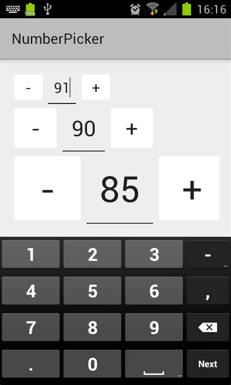 android layout width integer types not allowed android how can i create and resize a horizontal number