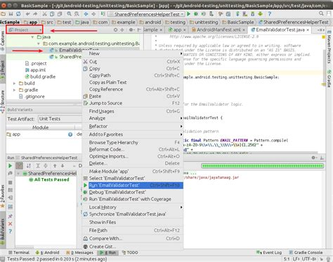 android studio junit tutorial android user interface testing with espresso tutorial