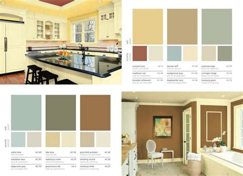 benjamin moore historic collection kitchen pinterest