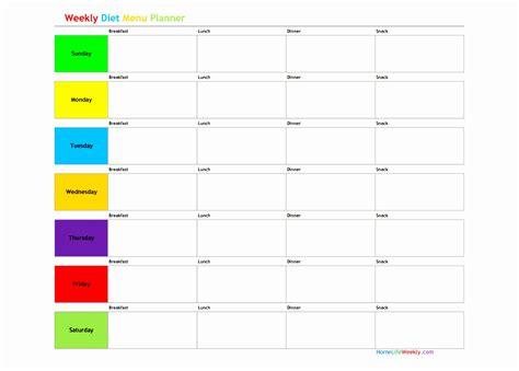 plan of the week template 5 weekly diet plan template uieoe templatesz234