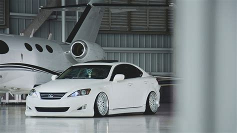 stanced lexus is350 lexus is white tuning hangar wallpaper 1920x1080 17295