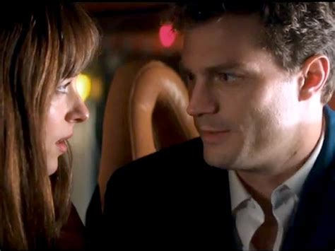 50 shades of gray chest hair scene see new scenes from fifty shades of grey in love me like