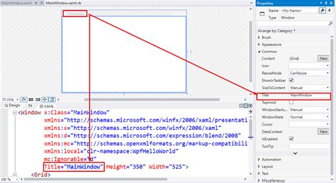 xaml layout basics vb net wpf tutorial make wpf desktop application