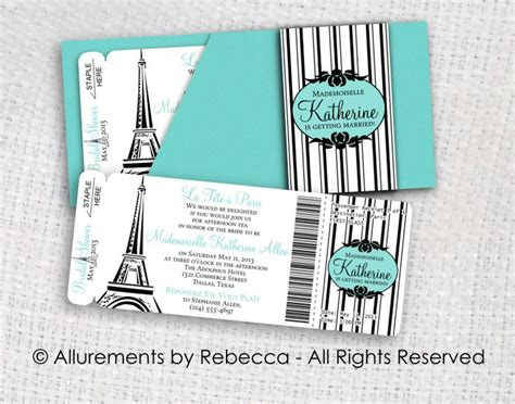 boarding pass invitations by