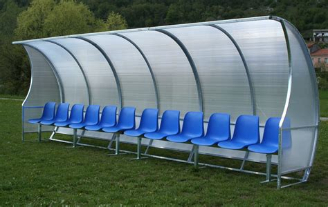 panchine da calcio panchina coperta per co da calcio