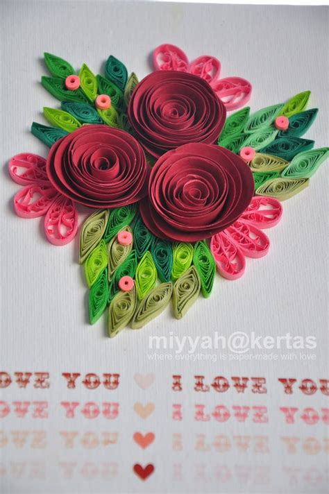 tutorial quilling kertas 1000 images about quilling flowers roses on pinterest