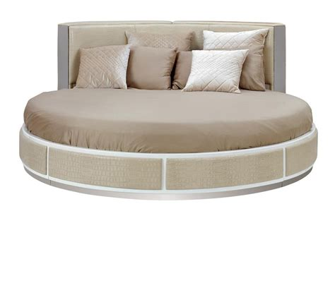 modern round bed dreamfurniture com temptation modern round bed ophelia